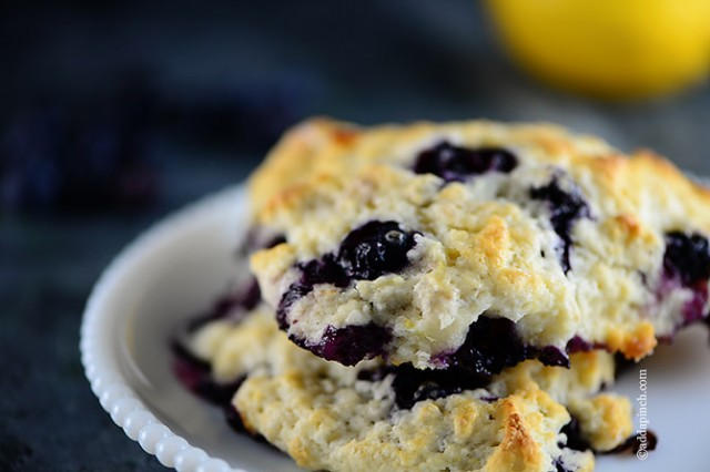 Lemon Blueberry Scones Recipes