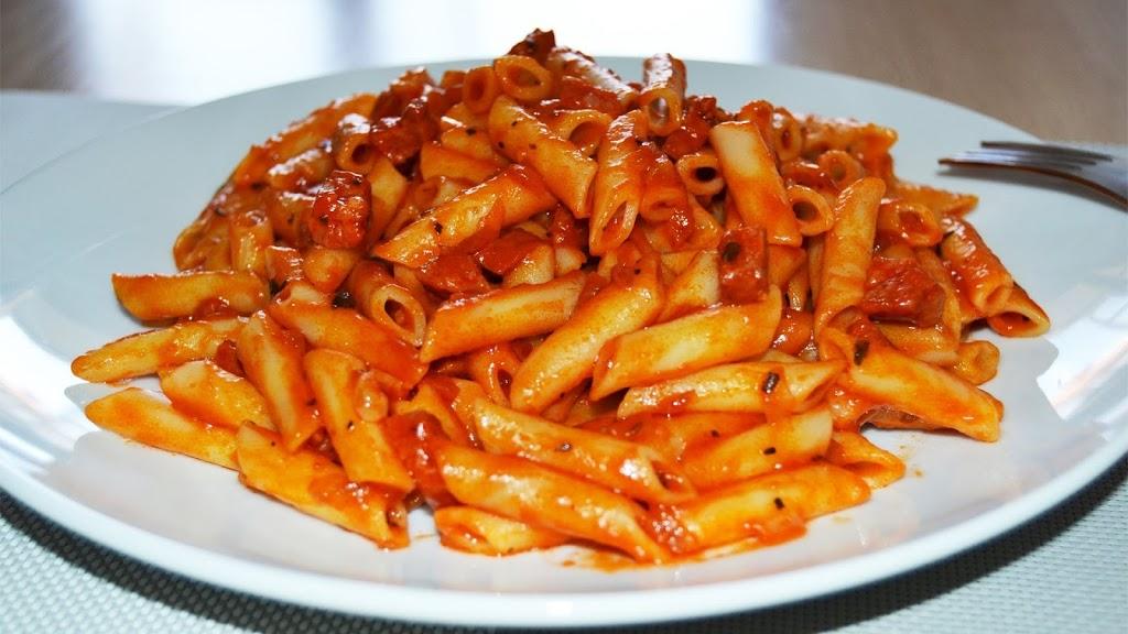 Pasta With Sauce Napoletana